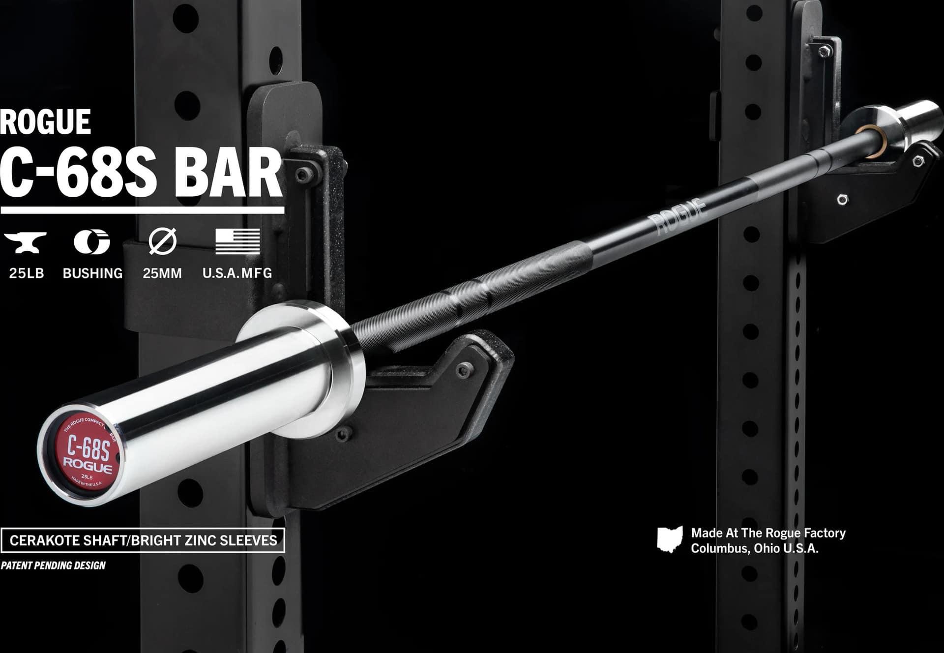 Rogue C-68S Bar - Women's Rackable Short Bar main