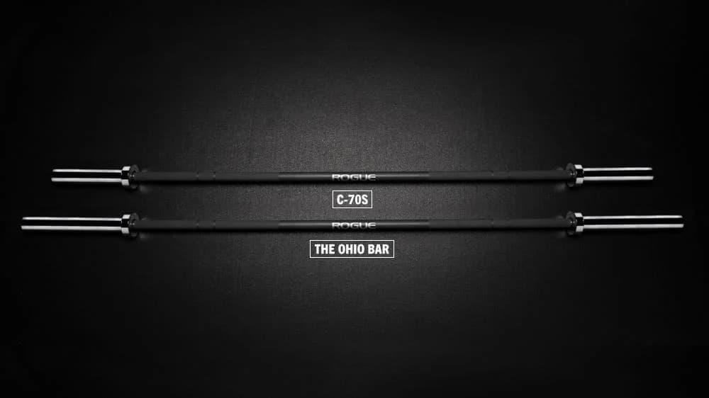 Rogue C-70S Bar - Men's Rackable Short Bar comparison