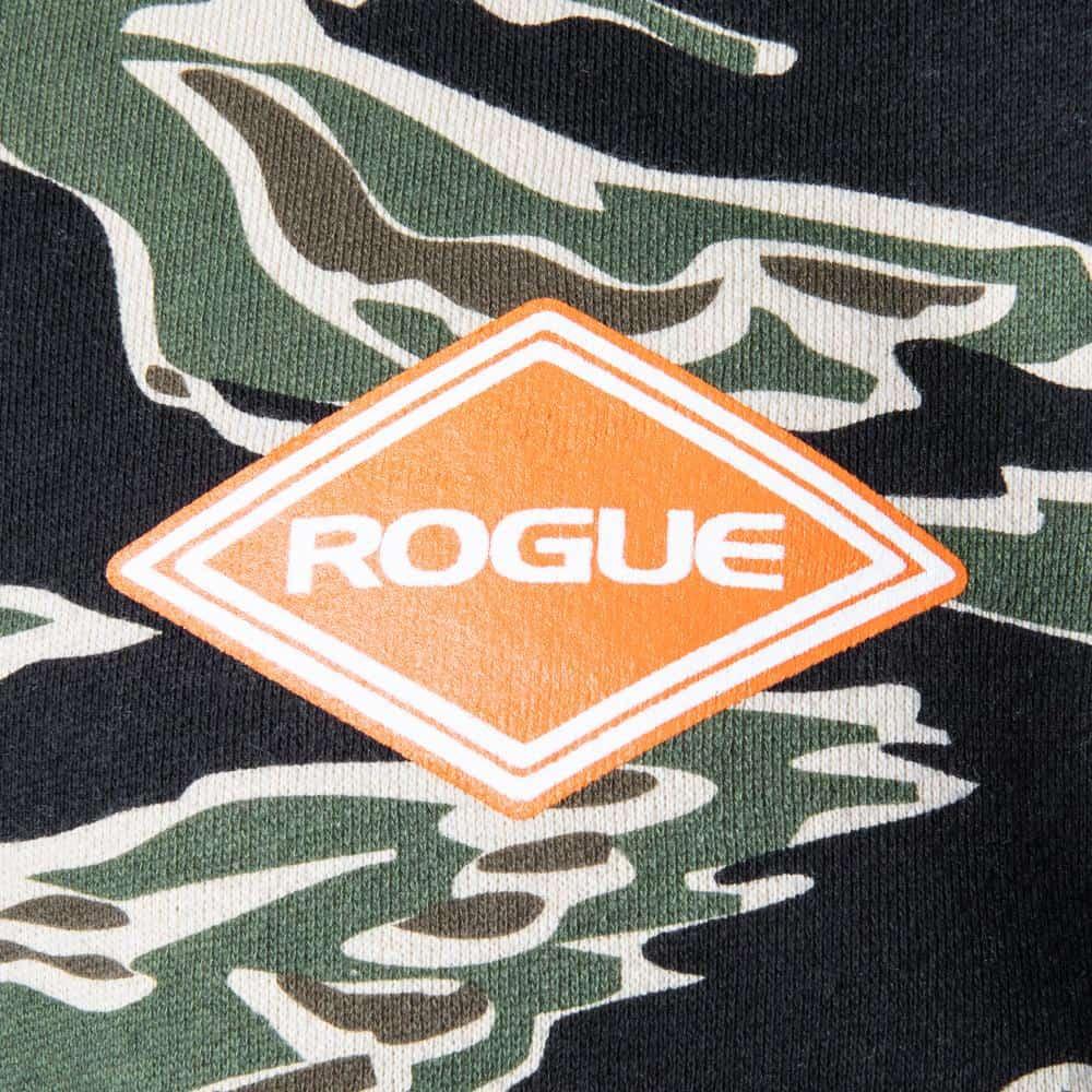 Rogue Hoodie Tiger Camo details