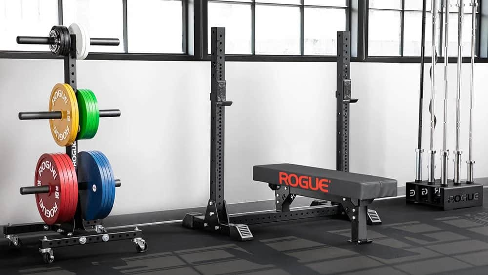 Rogue Monster Lite Competition Bench with brandname