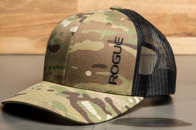 Rogue Multicam Snapback Hat front