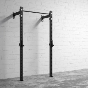American Barbell Garage Gym Rack attached to the wall