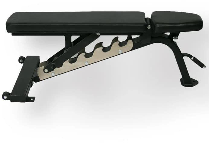 American Barbell Multiple Adjustable Bench 0-75 Degree - Black Upholstery bench