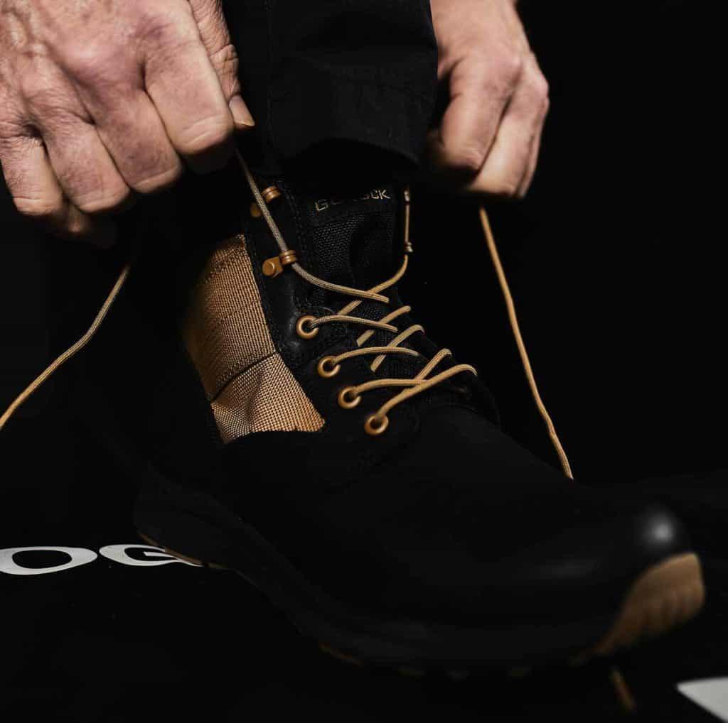 GORUCK MACV-1 - Black + Coyote - 6 laces