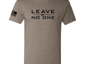 GORUCK T-shirt - Leave No One front