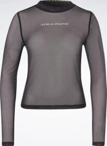 Reebok Les Mills Lightweight Layering Long Sleeve Shirt full front