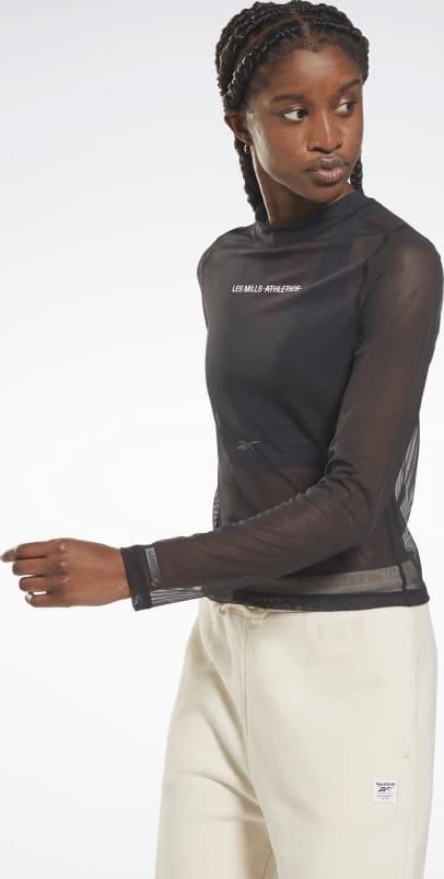 Reebok Les Mills Lightweight Layering Long Sleeve Shirt worn 1