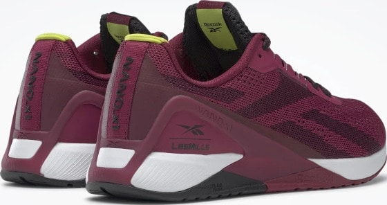 Reebok Nano X1 Womens Training Shoes Les Mills quarter back pair