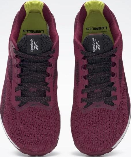 Reebok Nano X1 Womens Training Shoes Les Mills top view pair