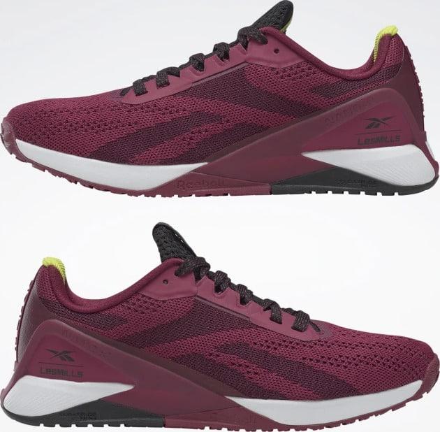 Reebok Nano X1 Womens Training Shoes Les Mills upside down
