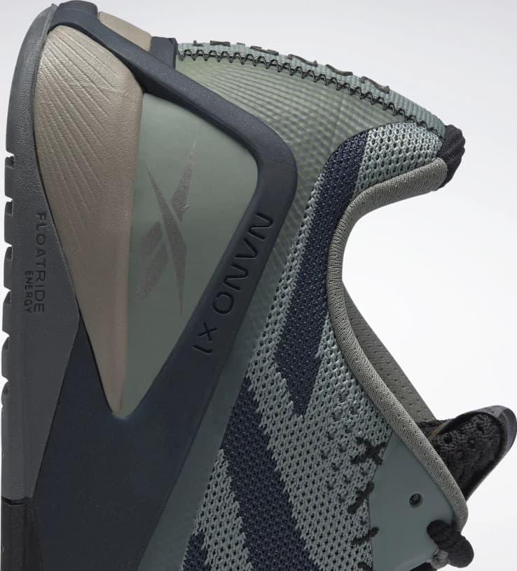 Reebok Nano X1 Womens Training Shoes side heel