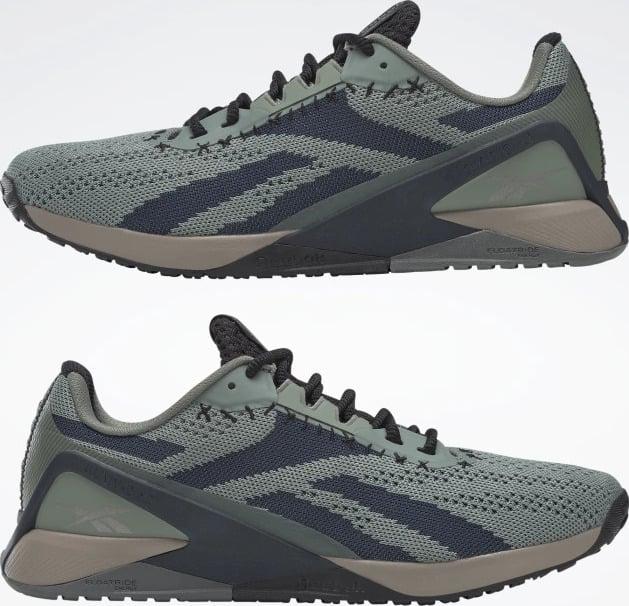 Reebok Nano X1 Womens Training Shoes upside down pair