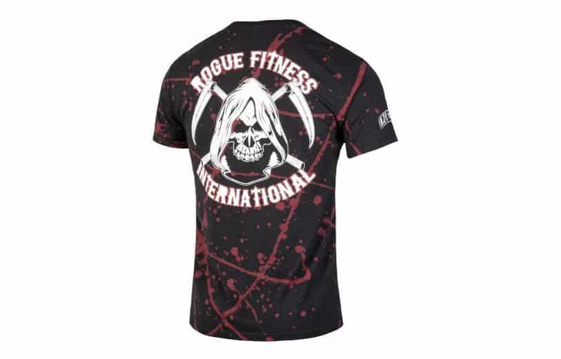 Rogue Halloween International Shirt 2021 back