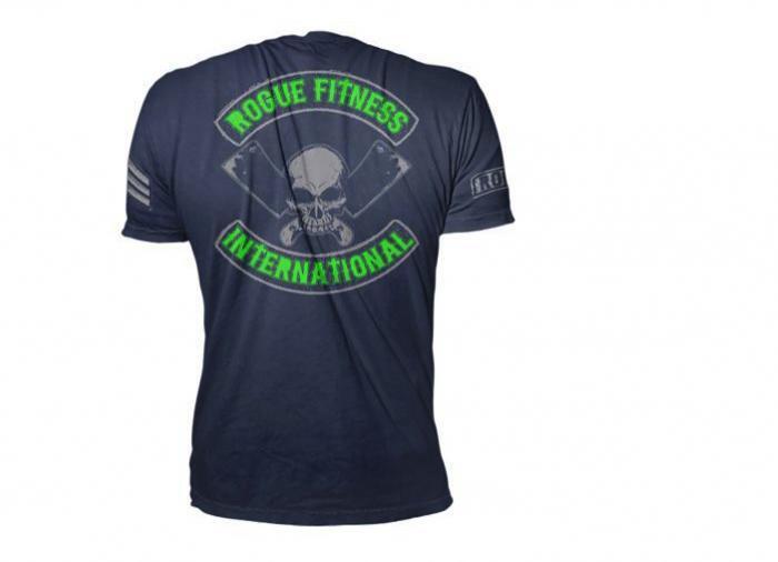 Rogue International Shirt back