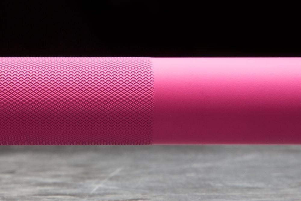 Rogue The Bella Bar 2.0 - Cerakote Special Pink Edition knurl
