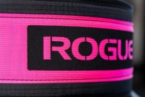 Rogue USA Nylon Lifting Belt pink