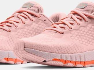 Under Armour Womens UA HOVR Machina 2 Running Shoes quarter view pair
